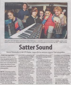 ProFiliis unterstützt die Jugendfreizeitstätte Smile bei der Einrichtung eines Tonstudios