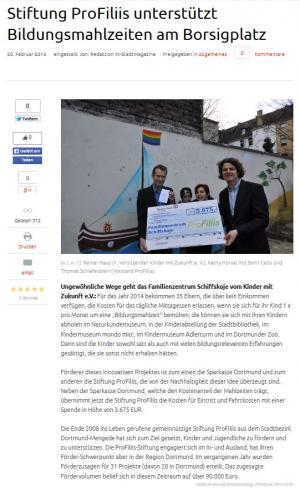 Dortmunder Kinder-Bildungsmahlzeit-Pass