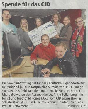 Internetcafé für das CJD