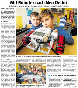 Robo-Teams an der Westricher Grundschule