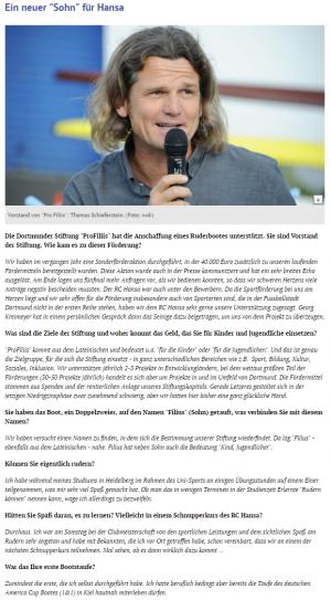 Neuer Rennzweier für den RC Hansa