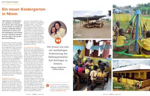 Kindergartenneubau in Ghana