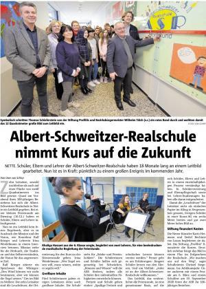 Leitbildgestaltung der Albert-Schweitzer-Realschule