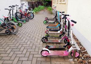 Rollerständer für die Aplerbecker Grundschule