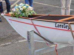 Ruderrennboot für das HHG