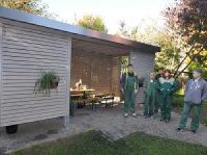 """Ein """"Grünes Klassenzimmer"""" für die Schülerfirma Froschkönig"""