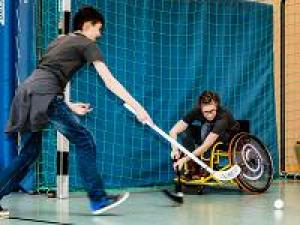 Sportfreizeit für Kinder mit körperlicher Einschränkung