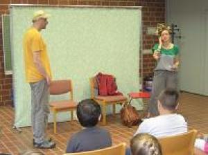 Theaterpädagogisches Projekt an der Schragmüller Grundschule
