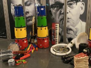 """Instrumente für """"Community Music"""" im Konzerthaus"""