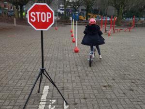Fahrrad-AG an der Diesterweg-Grundschule