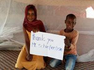 1.000 Moskitonetze für Familien in Mauretanien